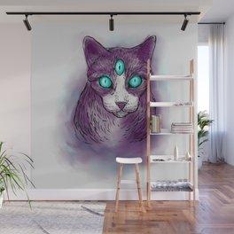 Cat I Wall Mural