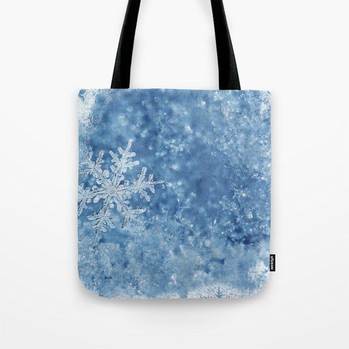 Winter wonderland Snowflakes Tote Bag