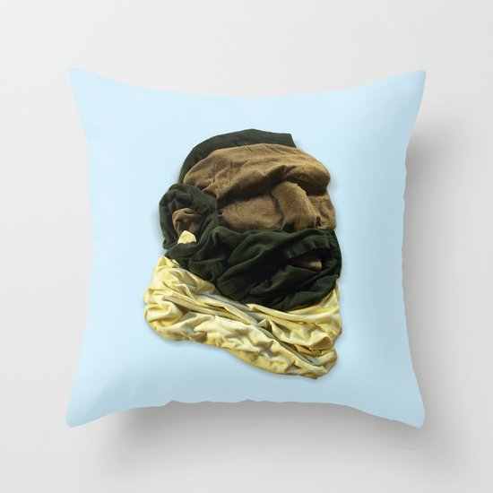 Mr. Tee Throw Pillow