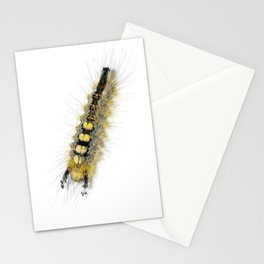 Rusty Tussock Moth Caterpillar Stationery Cards