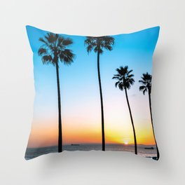 Palm Tree Relaxation Throw Pillow