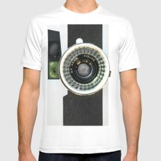 Vintage camera White Mens Fitted Tee MEDIUM
