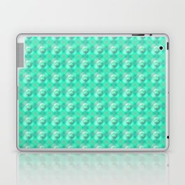 Verdigris Pearls Laptop & iPad Skin