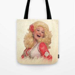 Dolly Parton - Watercolor Tote Bag