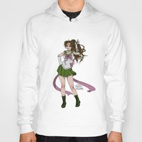 sailor jupiter Hoodies featuring Sailor Jupiter by Teo Hoble