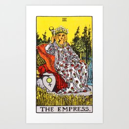 03 - The Empress Art Print
