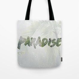 Paradise Palm Trees Tote Bag