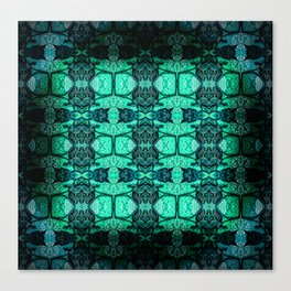 Ambient Glow Blues Canvas Print