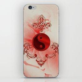 Ying und Yang, decortatives design iPhone Skin