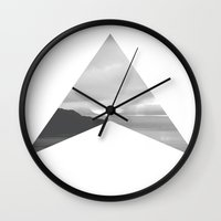 west coast Wall Clocks featuring west coast by Martin Evans