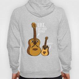 Uke I Am Your Father Ukulele Noo Guitar Musician Hoody