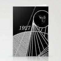 metropolis Stationery Cards featuring Metropolis by Federico Leocata LTD