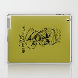 Hipstory Lessons: Albert Einstein Laptop & iPad Skin