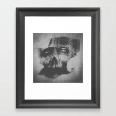 Like a Skull Framed Art Print