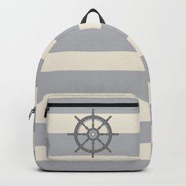 AFE Gray Helm Wheel Backpack