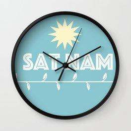 Sat Nam - truth I am Wall Clock