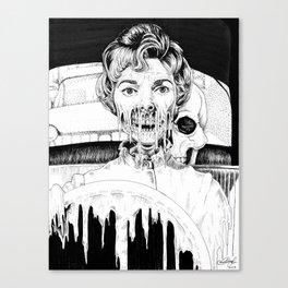 Psycho Melt Canvas Print