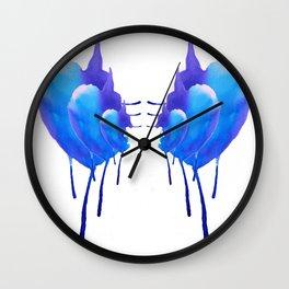 Hunchback Kidney Bears Wall Clock