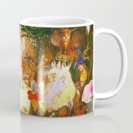 The Fairies Banquet Magical Realism Landscape by John Anster Fitzgerald Coffee Mug