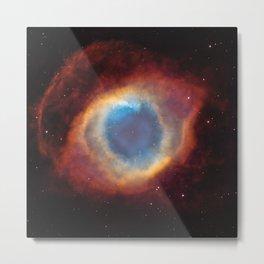 Helix Nebula Metal Print