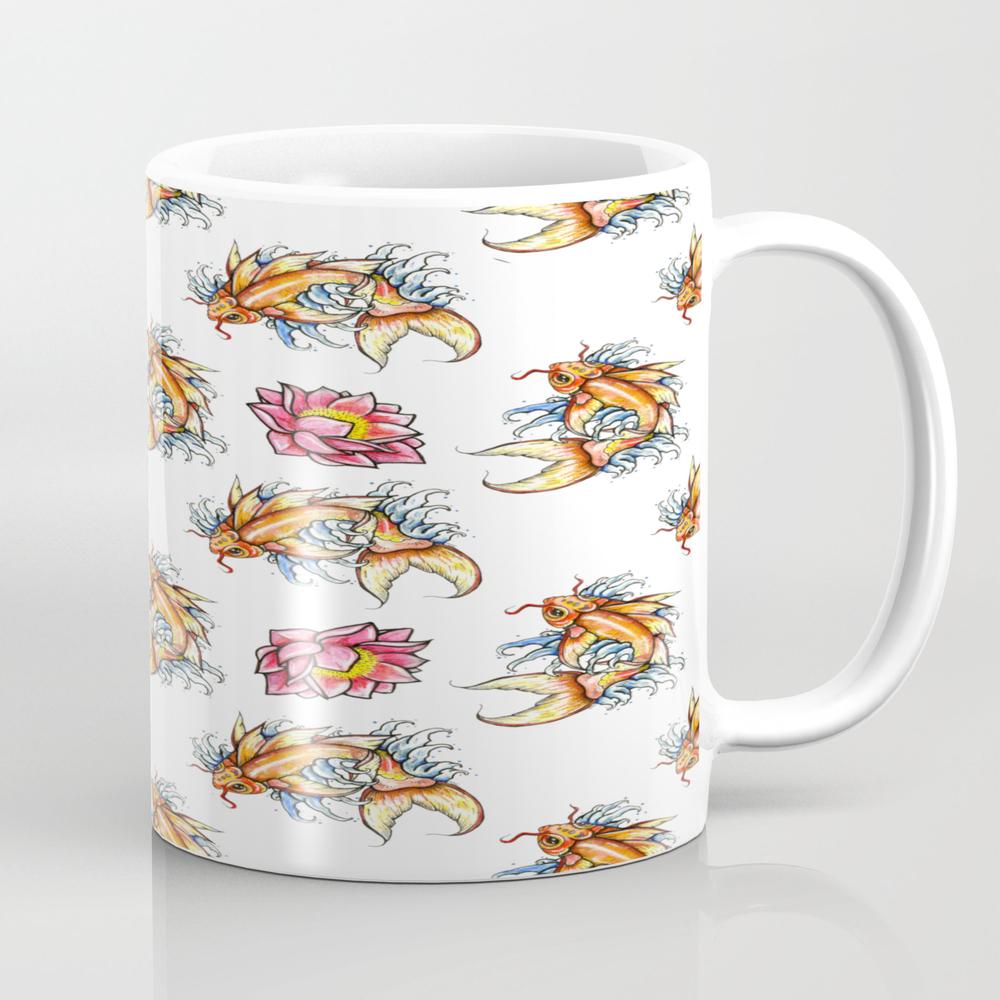 Japanese Koi Tea Cup by Soryarayart MUG7941248