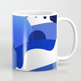 Terrazzo landscape blue night Coffee Mug