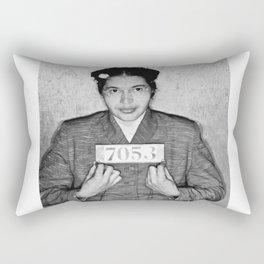 Rosa Parks Mugshot Rectangular Pillow