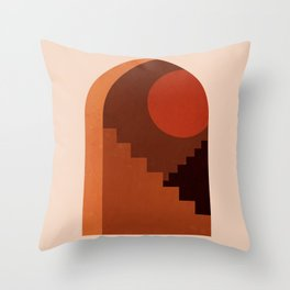 Abstraction_SUN_HOME_MInimalism_001 Throw Pillow