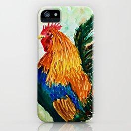 Cock-a-doodle-do! iPhone Case