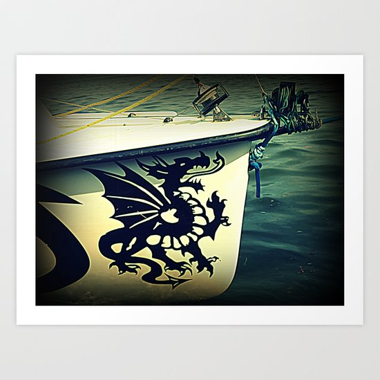dragonero Art Print