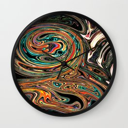 Crazy Marble Wall Clock