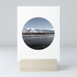 Frozen Lake Mini Art Print