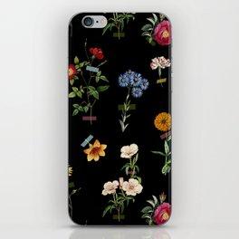 Vertical Garden (Black) iPhone Skin