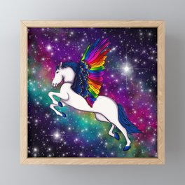 Celestial Pegasus Framed Mini Art Print