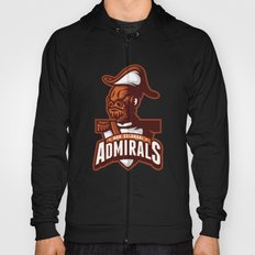 Mon Calamari Admirals on Orange Hoody