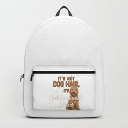 It's Not Dog Hair, It's Goldendoodle Glitter Backpack