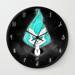 ScribbleNetty (Galaxy) Wall Clock