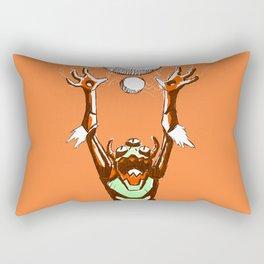 Imminent Doom Rectangular Pillow