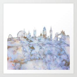 London Skyline Great Britain Art Print