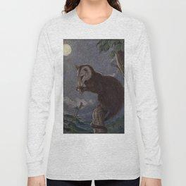 Vintage Possum Painting (1909) Long Sleeve T-shirt