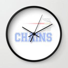 Bangin Chains Disc Golf Wall Clock