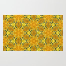 Yellow Sunflowers on a Sunny Day Rug