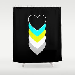 Requiessexuality in Shapes Shower Curtain