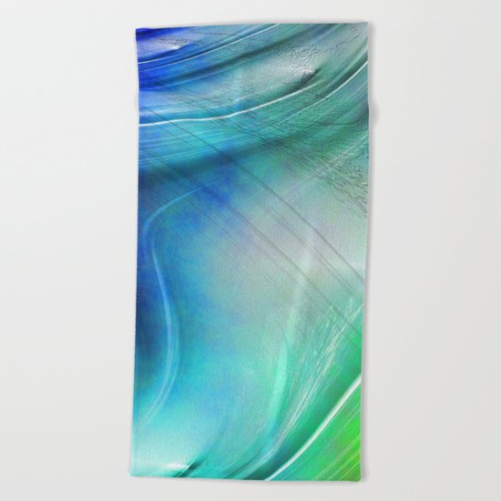 Texture abstract 2016 / 008 Beach Towel