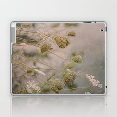 Summer Botanical -- Queen Anne's Lace Still Life Laptop & iPad Skin