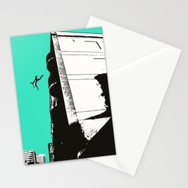 Dream Sequence Turquoise Stationery Cards