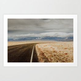 Great Sand Dunes National Park - Road Art Print