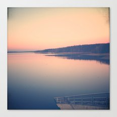 Morning Comes Softly Canvas Print