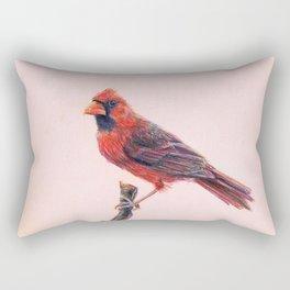 Northern cardinal Rectangular Pillow