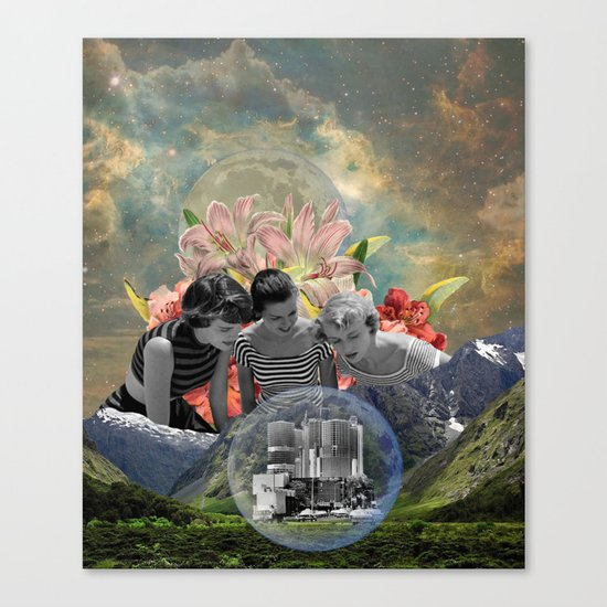 """Lost City"" Canvas Print"